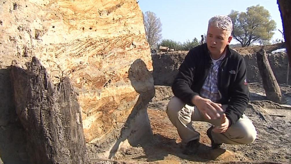 Archeologové odkryli na Valech základy mostu z 9. století