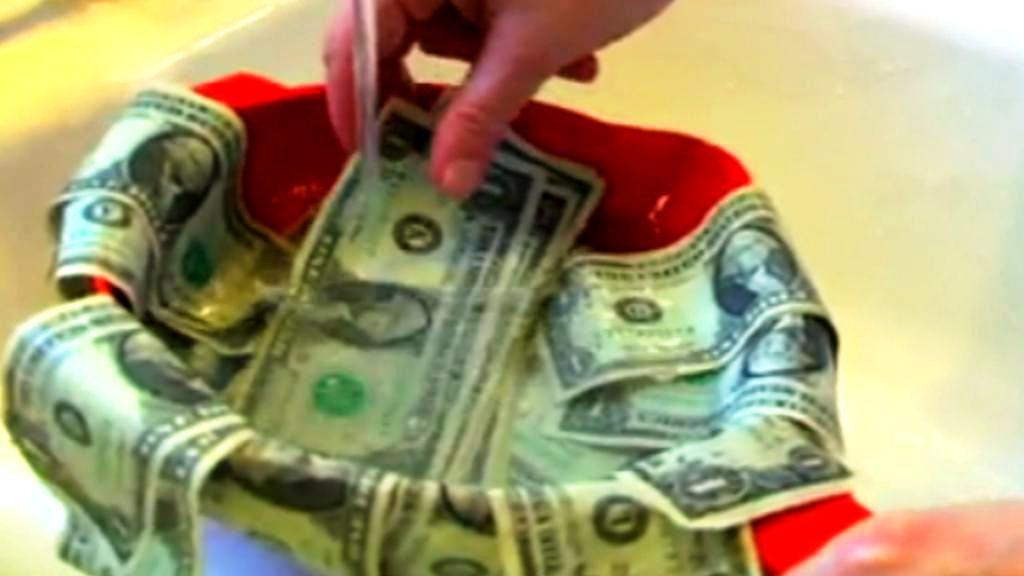 Test s penězi