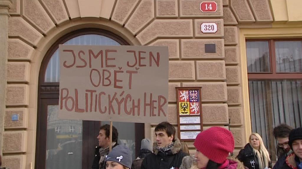 Protesty proti rušení plzeňských práv