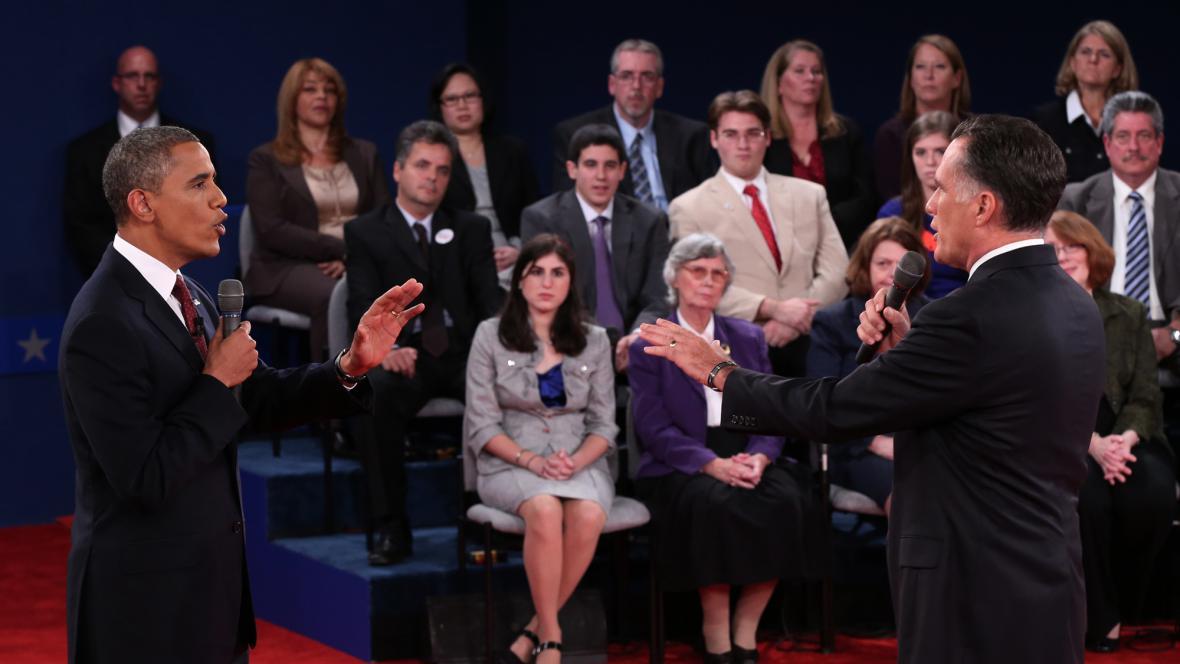 Debata Obamy a Romneyho