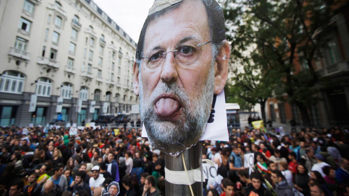 Španělé demonstrovali proti dopadům ekonomické krize