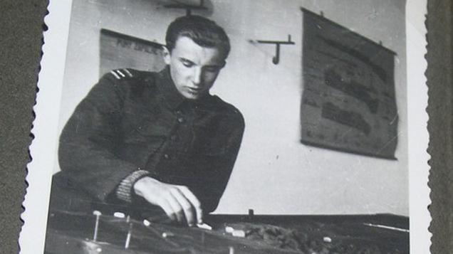 Tomáš Sedláček v Anglii během války