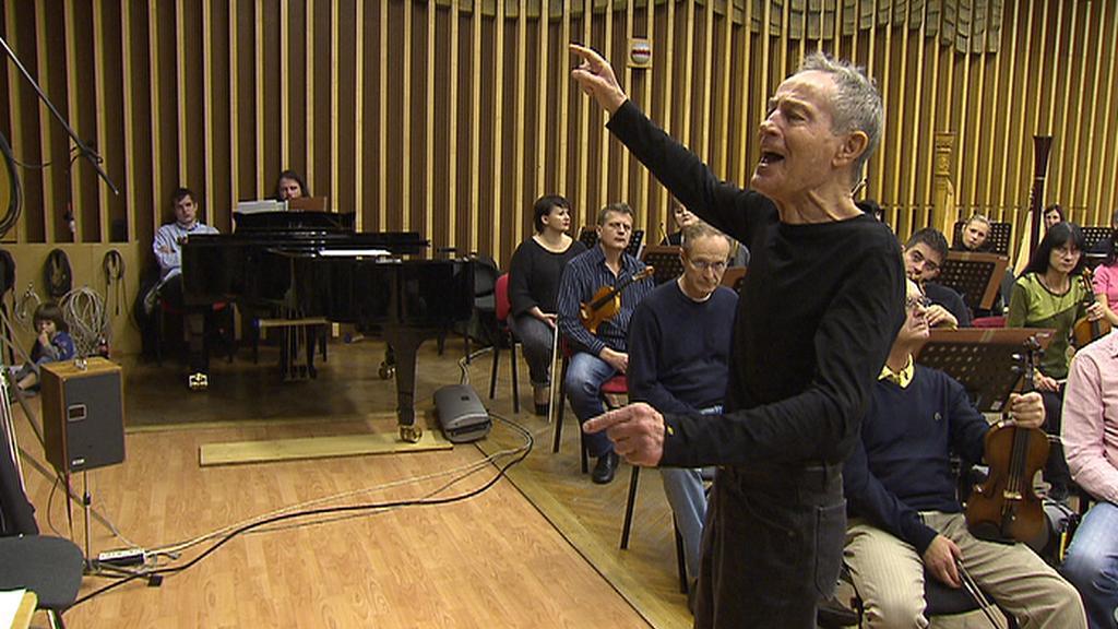 Jan Tříska recituje se symfonickým orchestrem