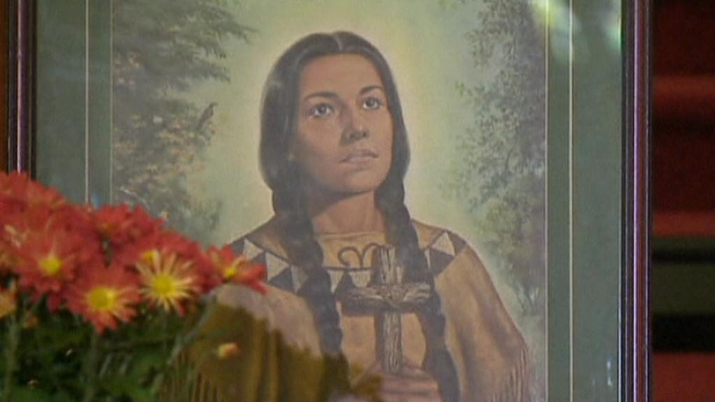 První kanonizovaná indiánka