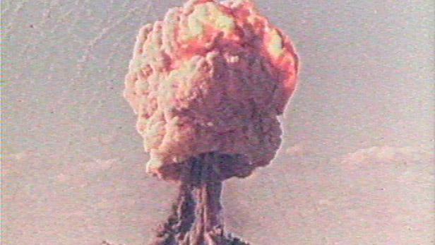 Výbuch atomové bomby