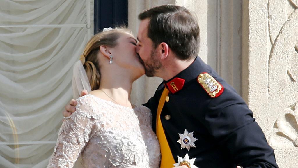 Svatba lucemburského prince
