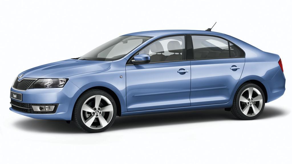 Škoda Rapid v modrém provedení