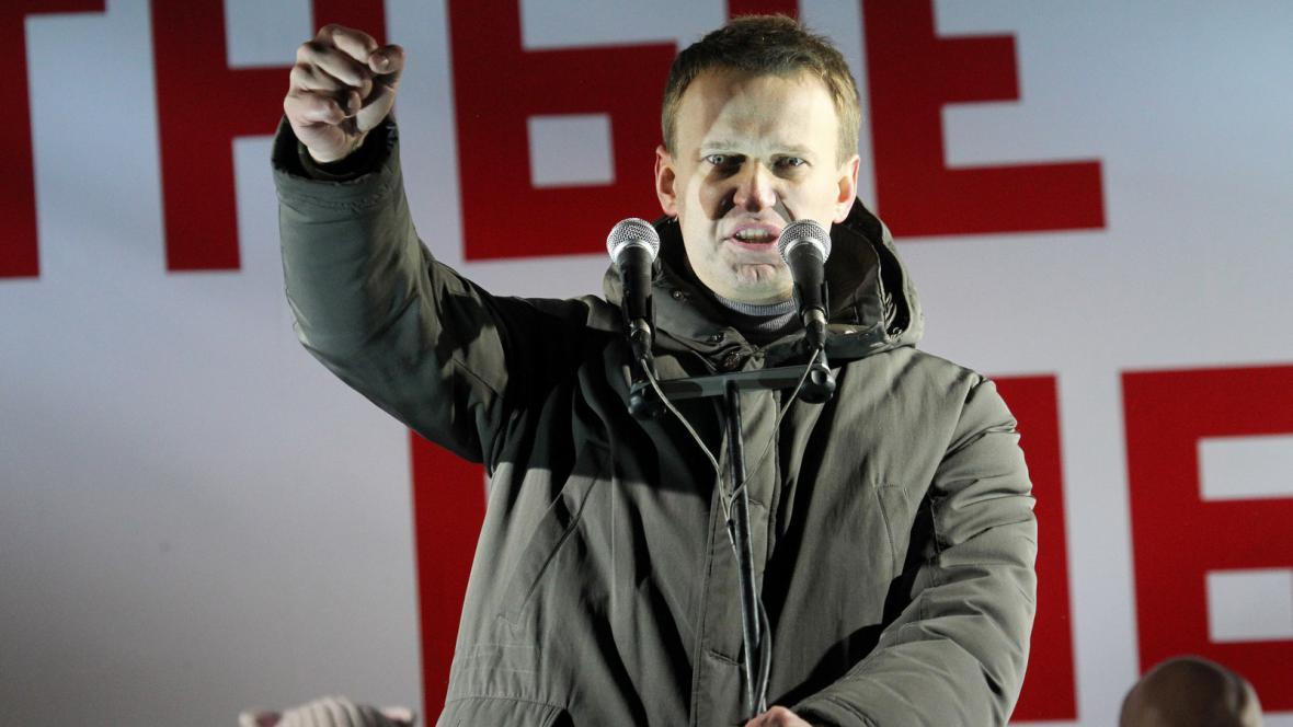 Alexej Navalnyj vyzývá k protestům