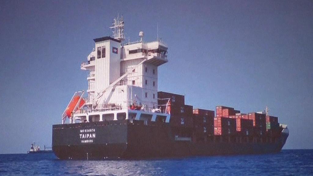 Unesená loď MV Taipan
