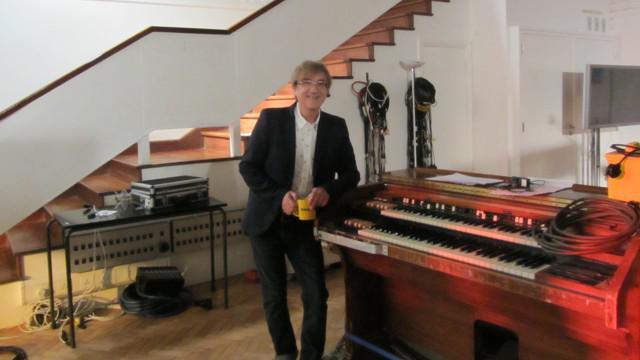 Miro Žbirka při nahrávání ve studiu Abbey Road
