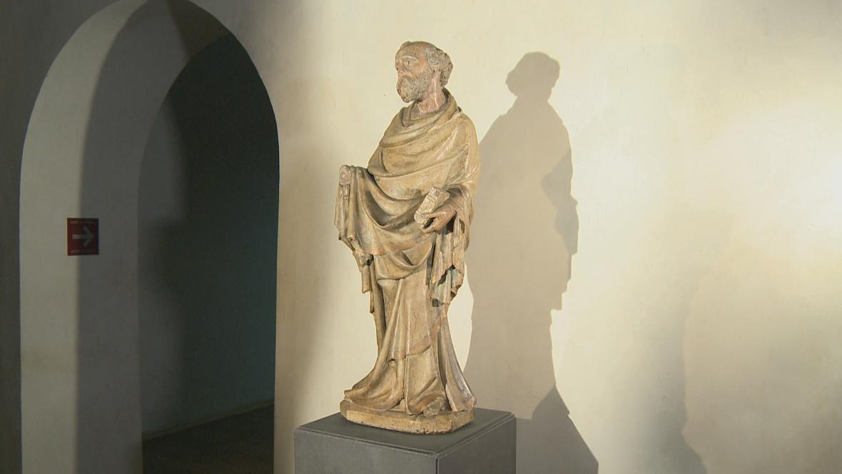 Socha sv. Petra ze Slivice