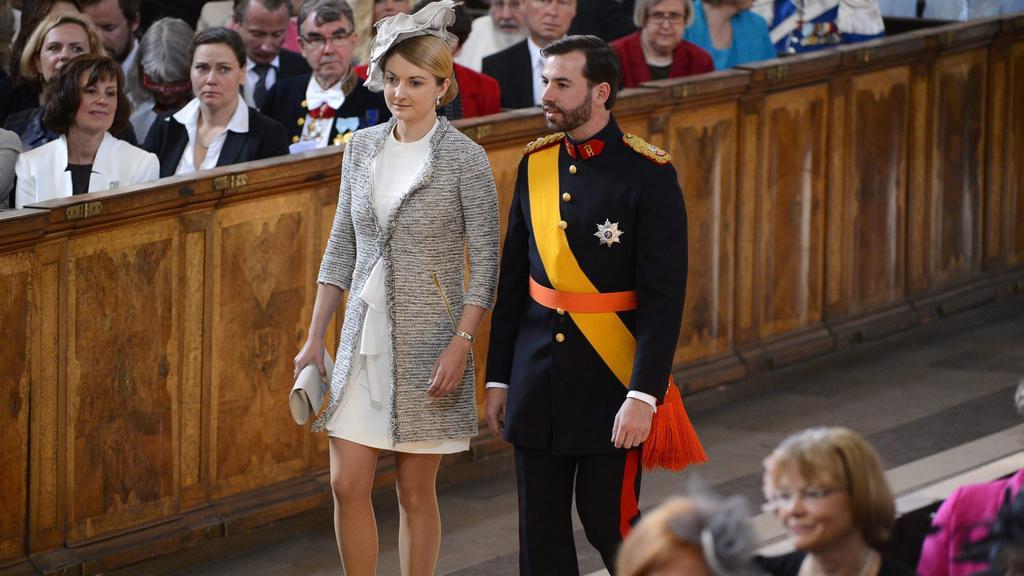 Prince Guillaume se snoubenkou Stéphanií de Lannoy