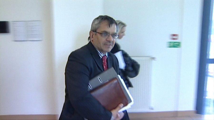 Obviněný zlínský advokát Milan Holomek