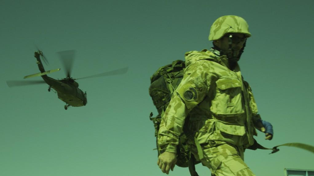 Ondřej Vetchý při natáčení filmu Všiváci v Afghánistánu
