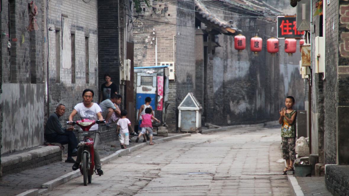 Čínské uličky
