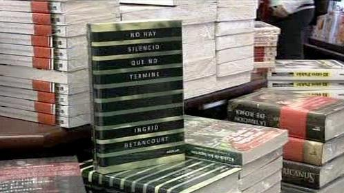 Kniha Ingrid Betancourtové