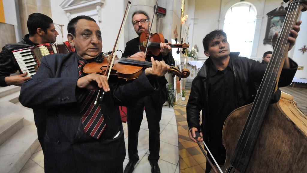 Cikánská kapela
