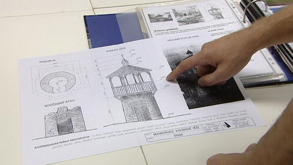 Návrh na obnovu požární hlásky u Slatiňan