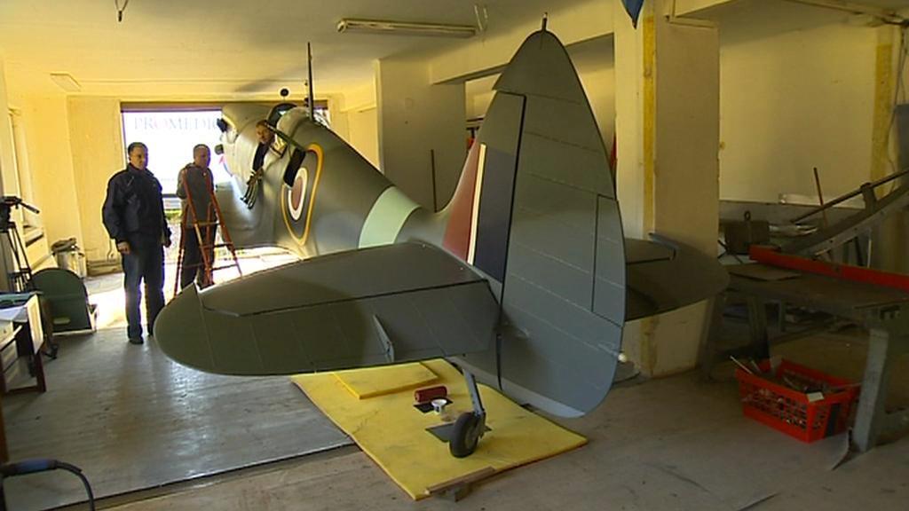 Stavba modelu Spitfire