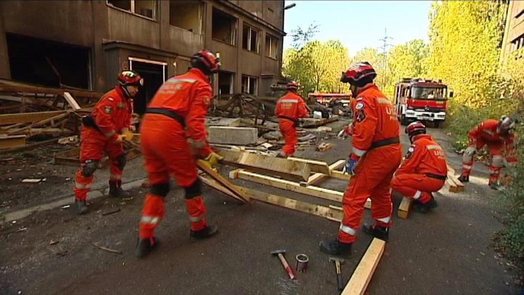 Cvičení při zemětřesení