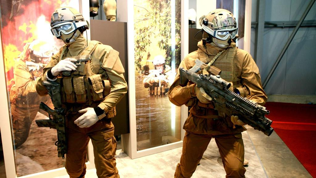 Výstava Future Soldier