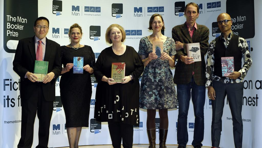 Autoři nejužšího výběru Man Bookerovy ceny 2012