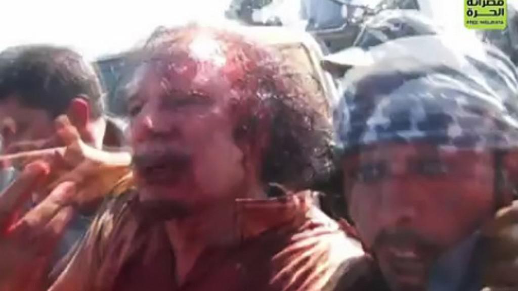 Dopadení Muammara Kaddáfího