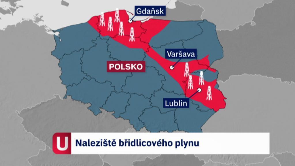 Břidlicový plyn v Polsku