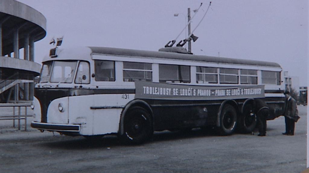 Rozloučení s trolejbusy