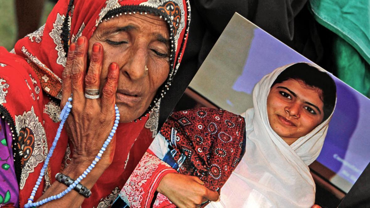 Útok na Malalaj Júsufzaiovou Pákistánce šokoval