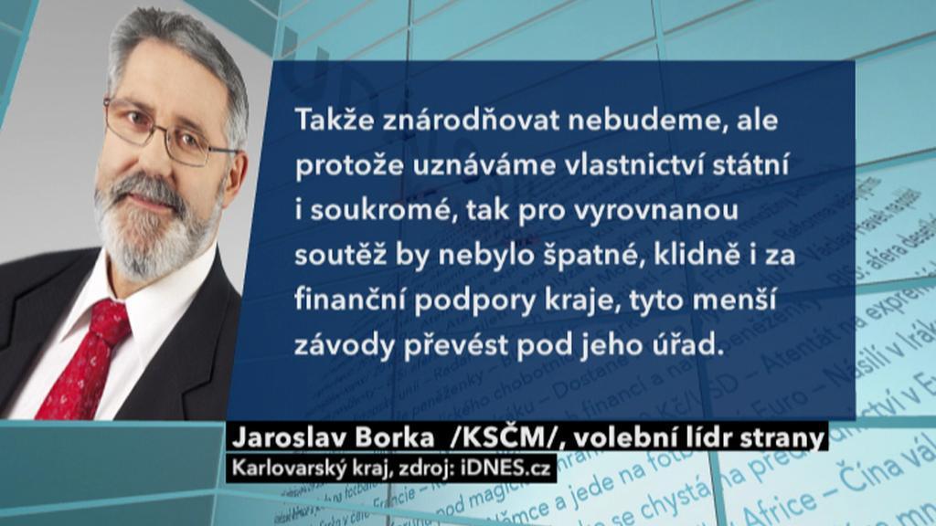 Výrok Jaroslava Borky