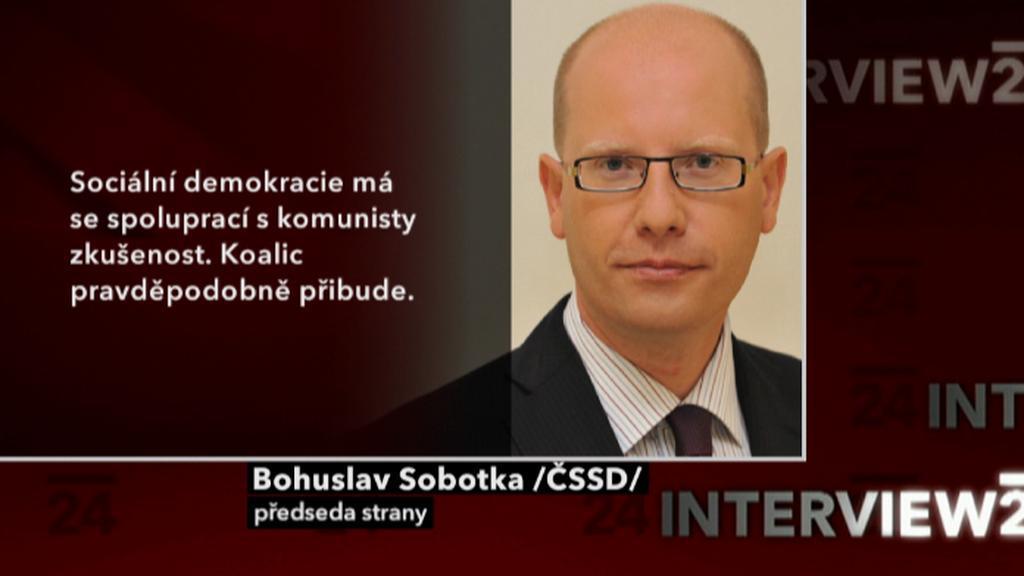 Výrok Bohuslava Sobotky