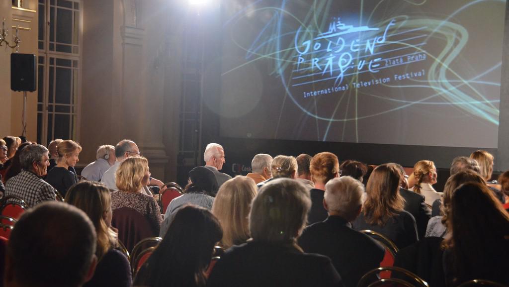 Promítání dokumentu Agony and Ecstasy na festivalu Zlatá Praha