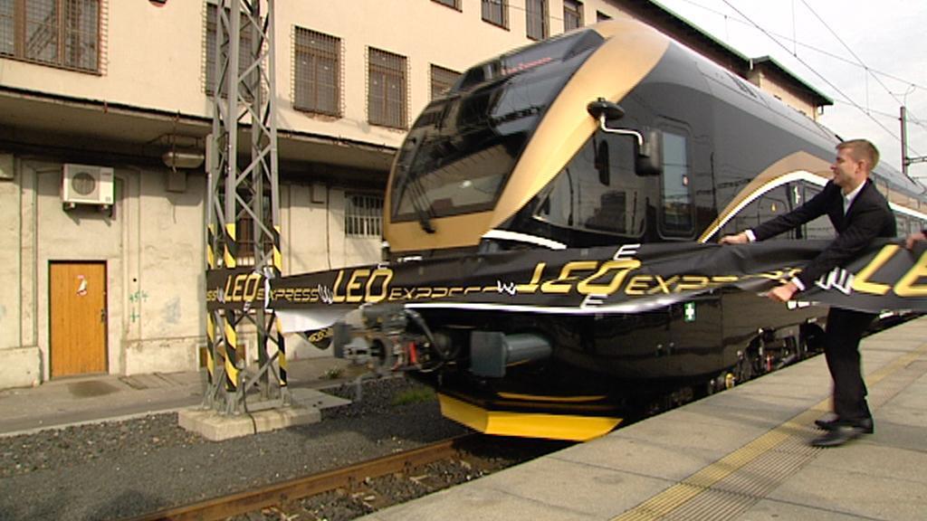 Vítání vlaku