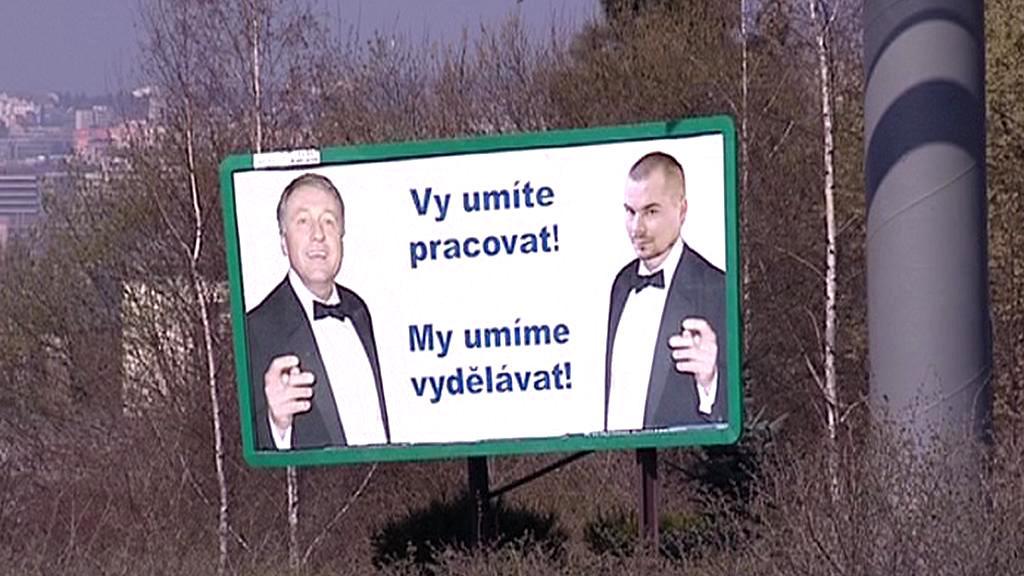 Mirek Topolánek a Marek Dalík
