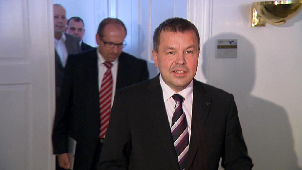 Petr Tluchoř v čele skupiny nespokojených poslanců ODS