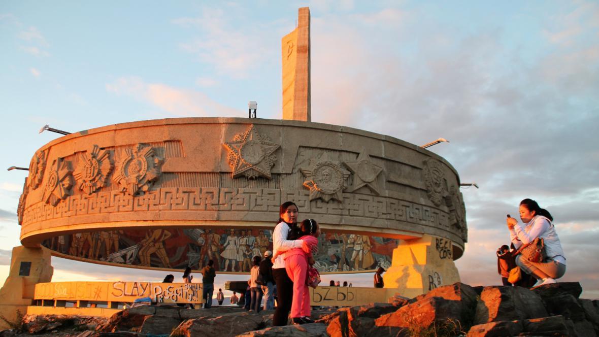 Památník Zeisan v Ulánbátaru