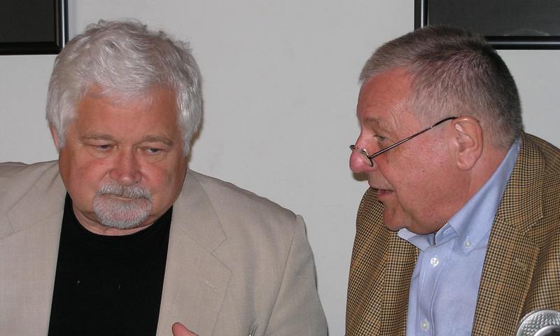 Petr Pithart a Karel Hvížďala