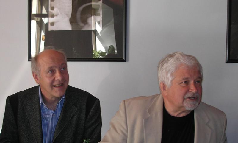 Jacques Rupnik a Petr Pithart