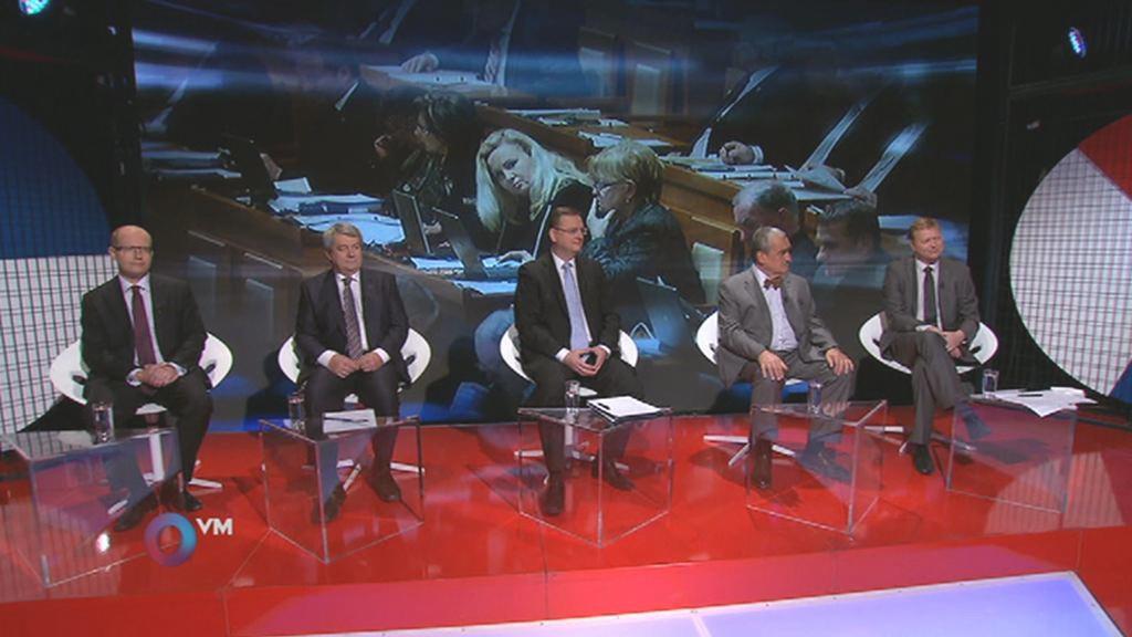 Otázky Václava Moravce 14. 10. 2012