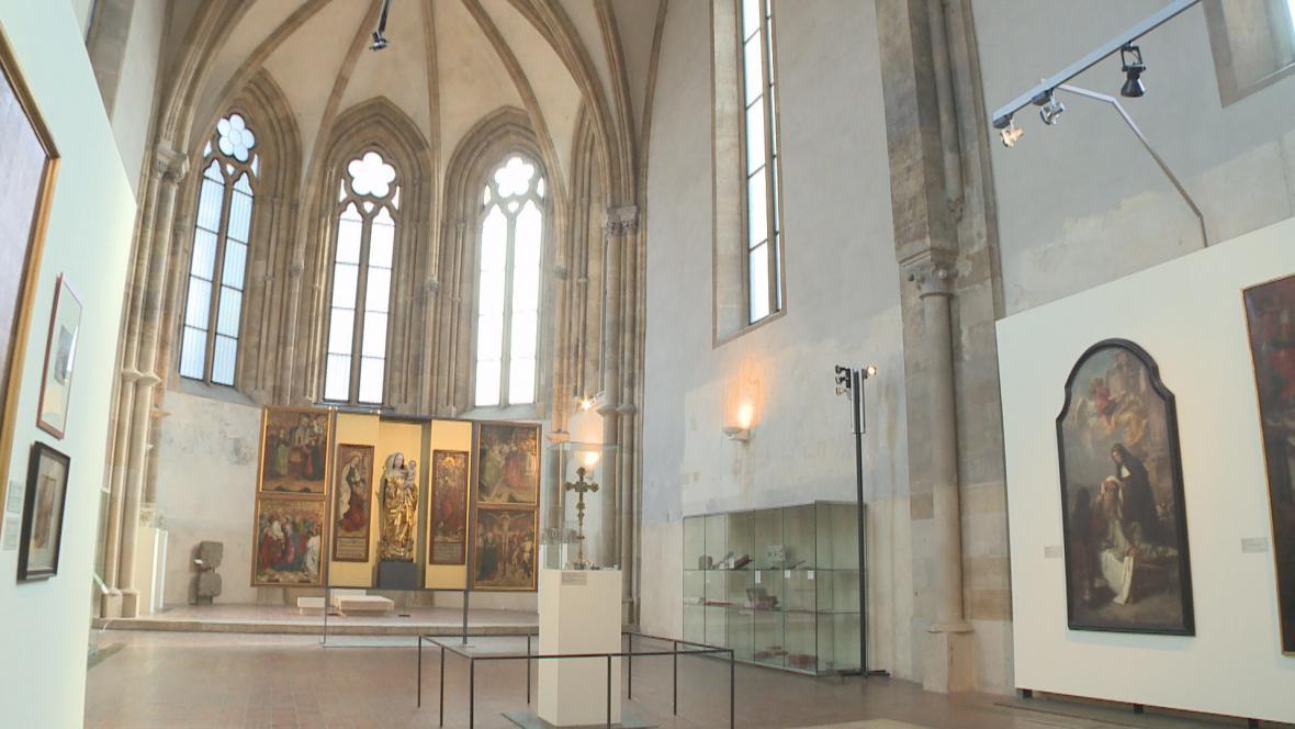 Puchnerova archa v Anežském klášteře