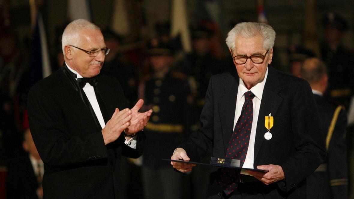 Václav Klaus a Břetislav Pojar