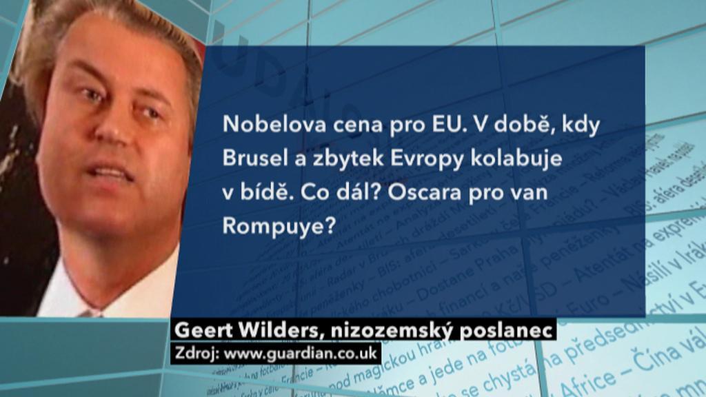 Reakce Geerta Wilderse