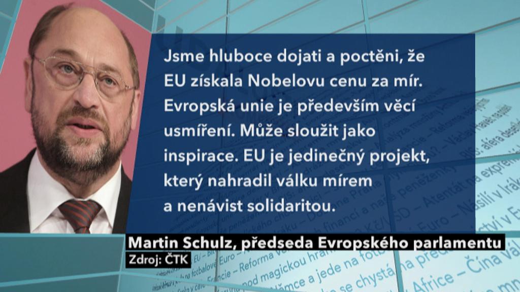 Reakce předsedy Evropského parlamentu