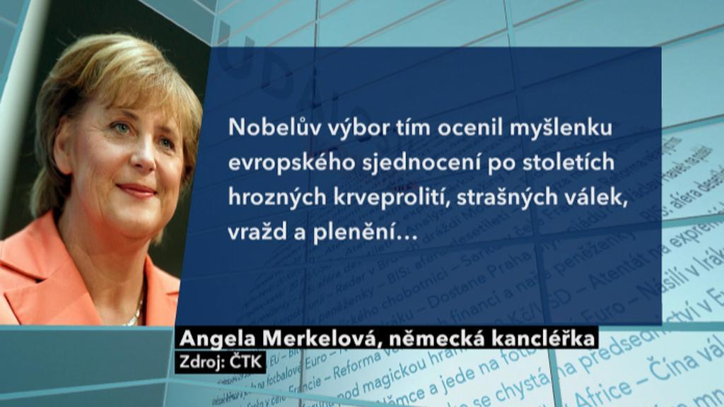 Reakce Angely Merkelové