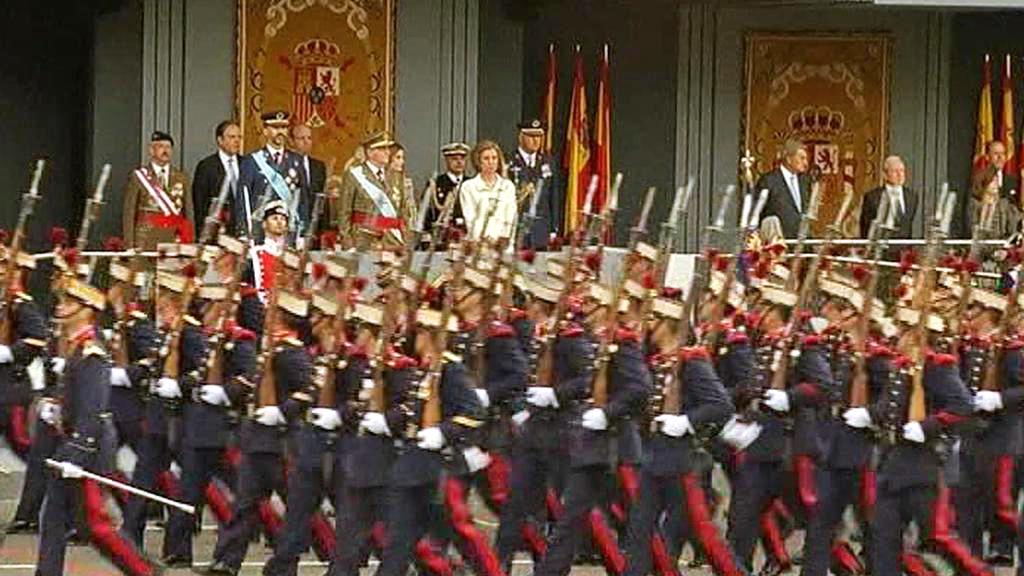 Vojenská přehlídka v Madridu