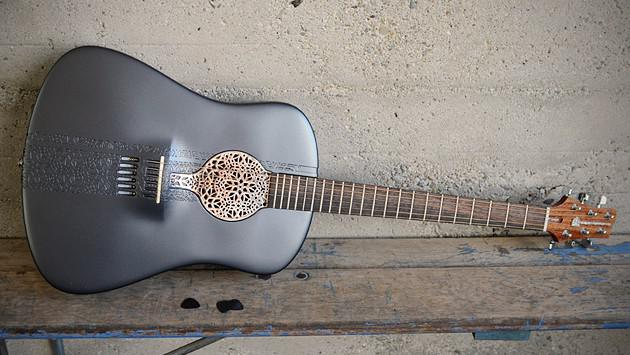 Kytara z 3D tiskárny