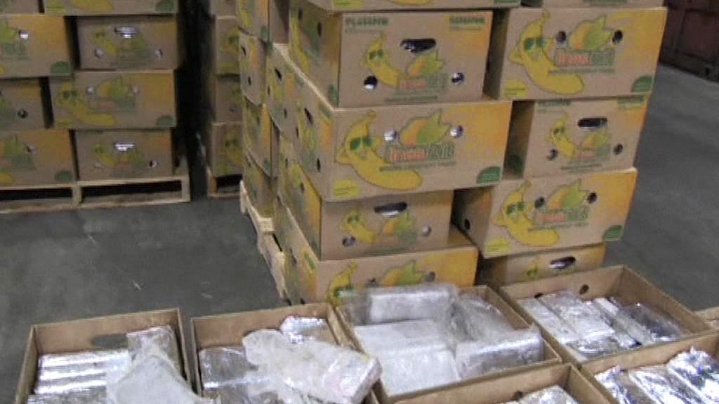 Kokain v bednách s banány z Ekvádoru