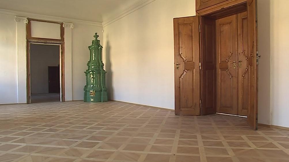 Dotace přispěla k opravě i dalších prostor zámku