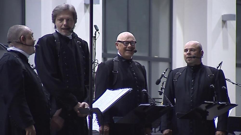 4TET vystoupil s brněnskou filharmonií